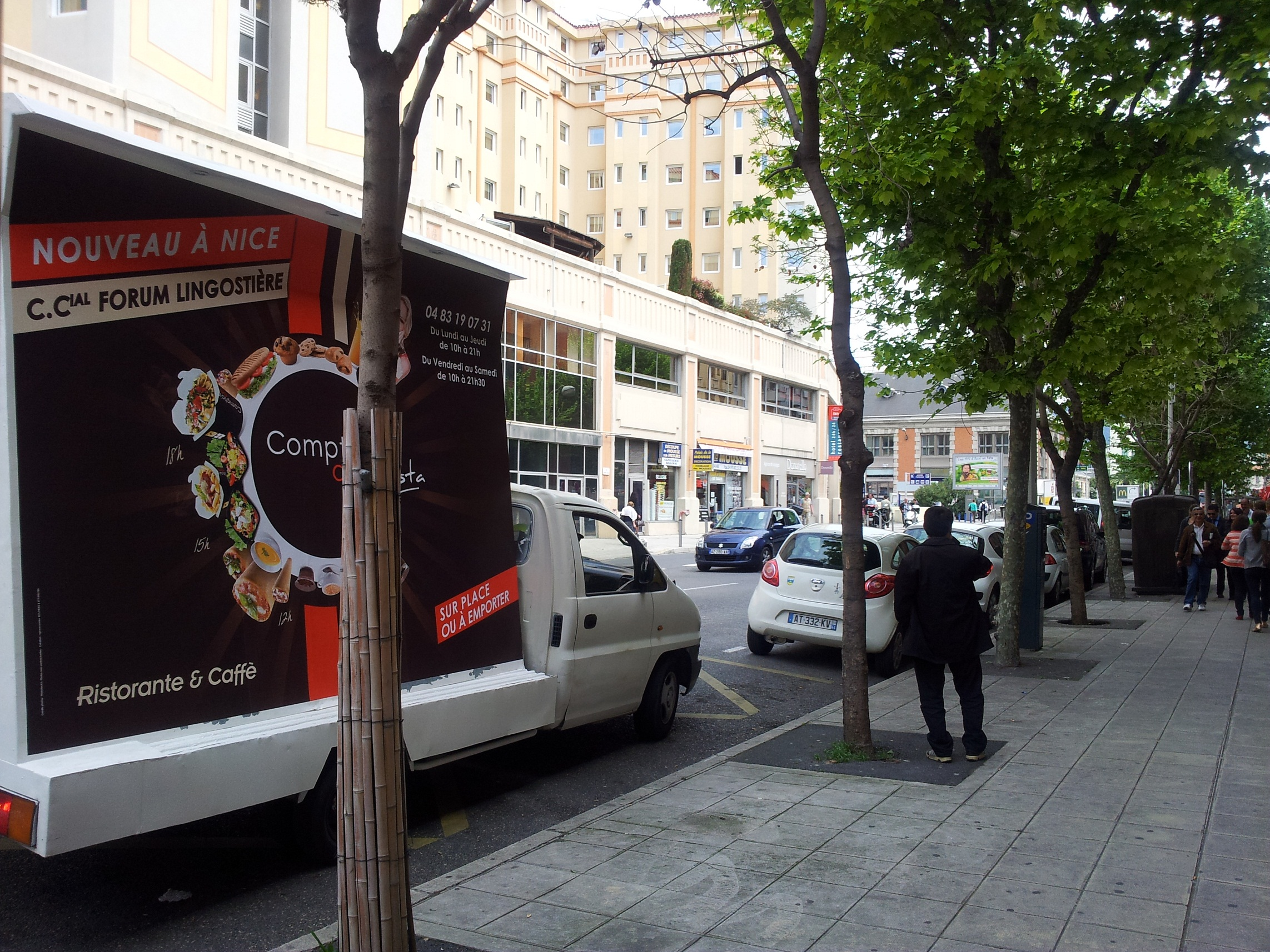 marketing roulant nice camion publicitaire marseille street marketing. Black Bedroom Furniture Sets. Home Design Ideas